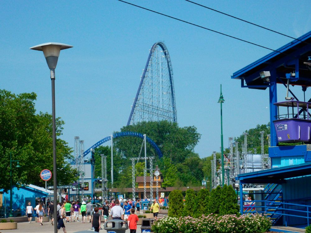 Millennium Force, montaña rusa Cedar Point