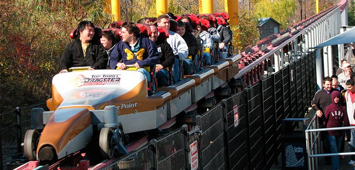 Montaña rusa Top Thrill Dragster