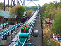 Kingda Ka, parque temático Six Flags Great Aventure