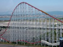 Steel Dragon 2000, parque temático Nagashima Spa Land